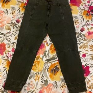 J Crew size 4 military ankle pants in 3 colors!